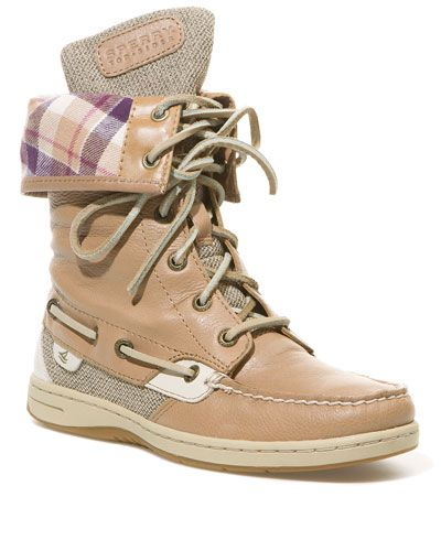 Sperry Top-Sider Women's 'Ladyfish' Leather Mid Shaft Boot...My ...