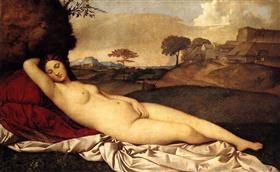 The Sleeping Venus - Giorgione