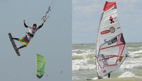 kite-surf ou planche à voile? Les deux sports à l'épreuve.