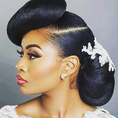 Pin On Wedding Hairstyles For Black Women