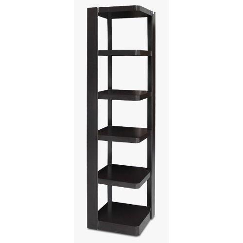 11 Librero esquinero de madera