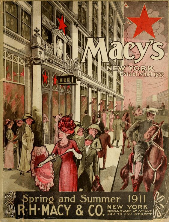 DEPARTMENT STORES -- R. H. Macy & Co. (1911), Spring & Summer (420 pgs.)
