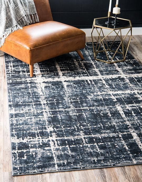 Navy Blue Uptown Collection By Jill Zarin Area Rug Navy Blue Rug Area Rugs Blue Rug