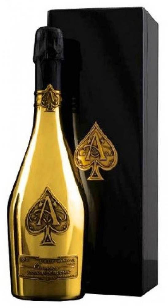 Armand De Brignac Brut Gold Ace Of Spades 3 Bottles Spade Champagne Armand De Brignac Champagne