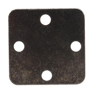 20mm Arte Metal Square 4 Hole Stamping Blank Link by Vintaj