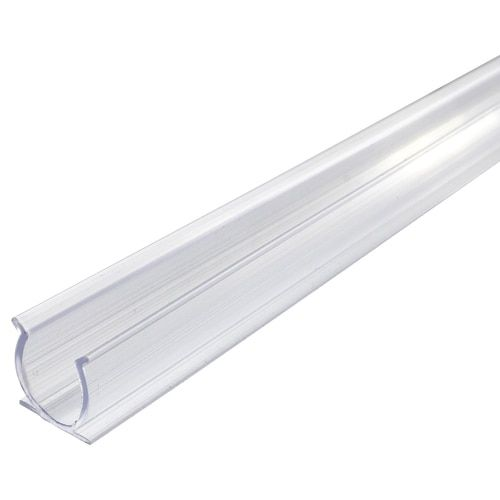 24 Inch X 1 2 Inch Rope Light Mounting Track Clear Pvc Channel 10 Pack 12 120 Volt Rope Light Rope Lights Light Clips