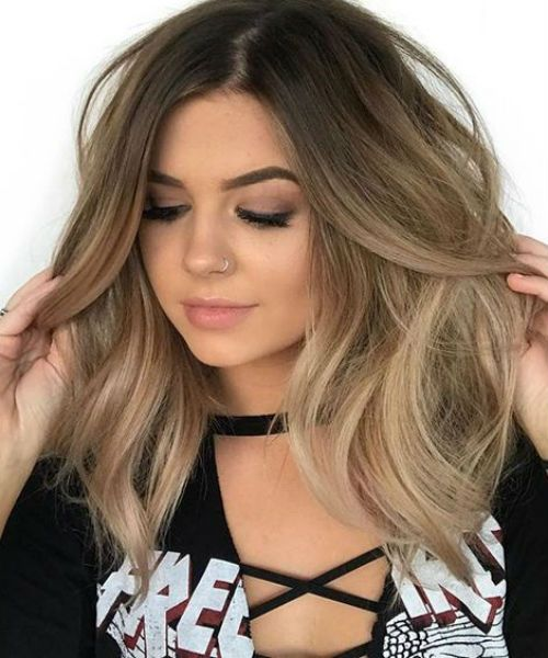 Super Gorgeous Medium Fluffy Hairstyles For Round Faces