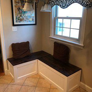 Banquettecorner Benchkitchen Seatingl Shaped Etsy Dreamkitchenwithbreakfastnookkitch Kitchen Seating Bedroom Furniture Redo Kitchen Designs Layout