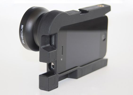 phocus: iPhone DSLR photography adapter