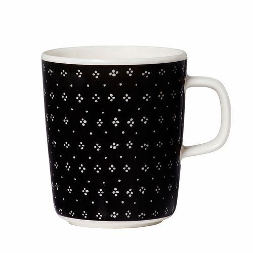 Marimekko Muija Black Mug