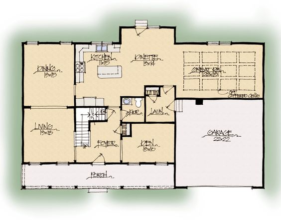 Schumacher house plans and bed bath on pinterest for Midwest living house plans