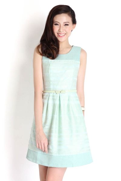 Fresh Influence Dress in Mint | LilyPirates