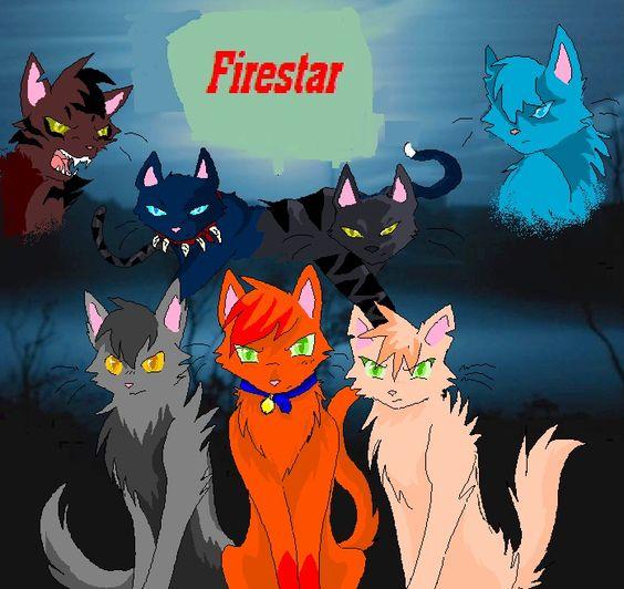 Warrior Cats Firestar And Tigerstar