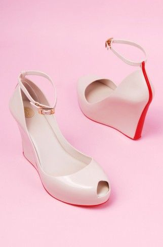 I love the ankle strap the best! Only if they were all leather  -Melissa Patchuli