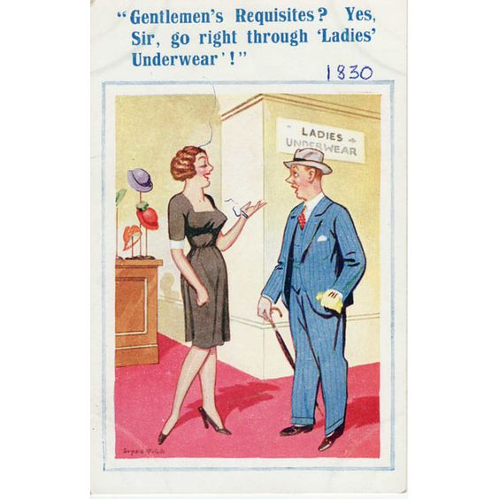 Banned Saucy Seaside Postcards By Donald McGill Go On Show