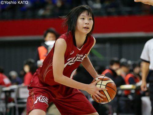 U17日本代表で経験を積み ウインターカップに臨んだ森岡奈菜未 個人的にはまだまだ バスケットボールキング Yahoo ニュース バスケ 女子 バスケットボール 日本代表
