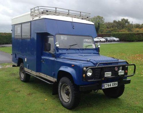 Land Rover 130 4x4 Ex Military Ambulance