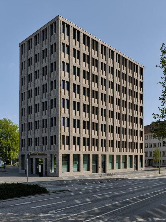 Tr ger backstein ber max dudlers aok neubau in bremerhaven news - Architektur bremerhaven ...