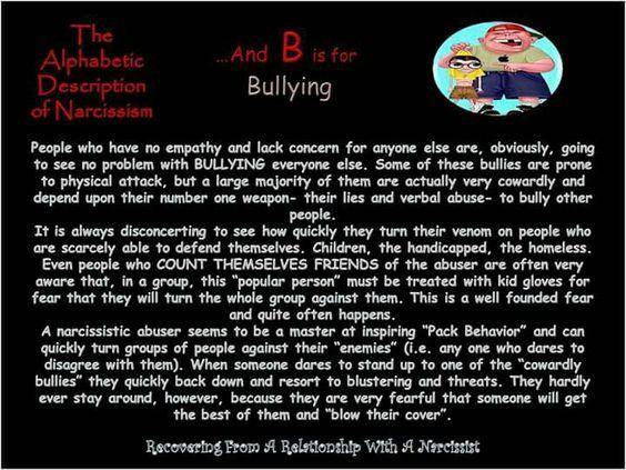 Narcissistic Abuse Tactic: Bullying