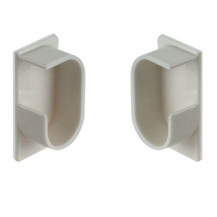Curtain Rods curtain rods amazon : Amazon.com - Instant-Up Self-Adhesive Curtain Rod Brackets ...