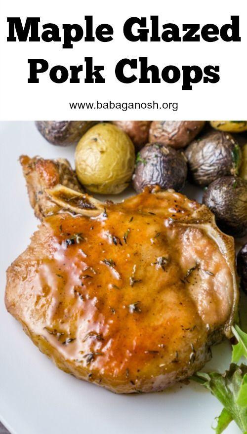 Maple Glazed Pork Chops | Recipe | Pork, Sauces and Glazed pork