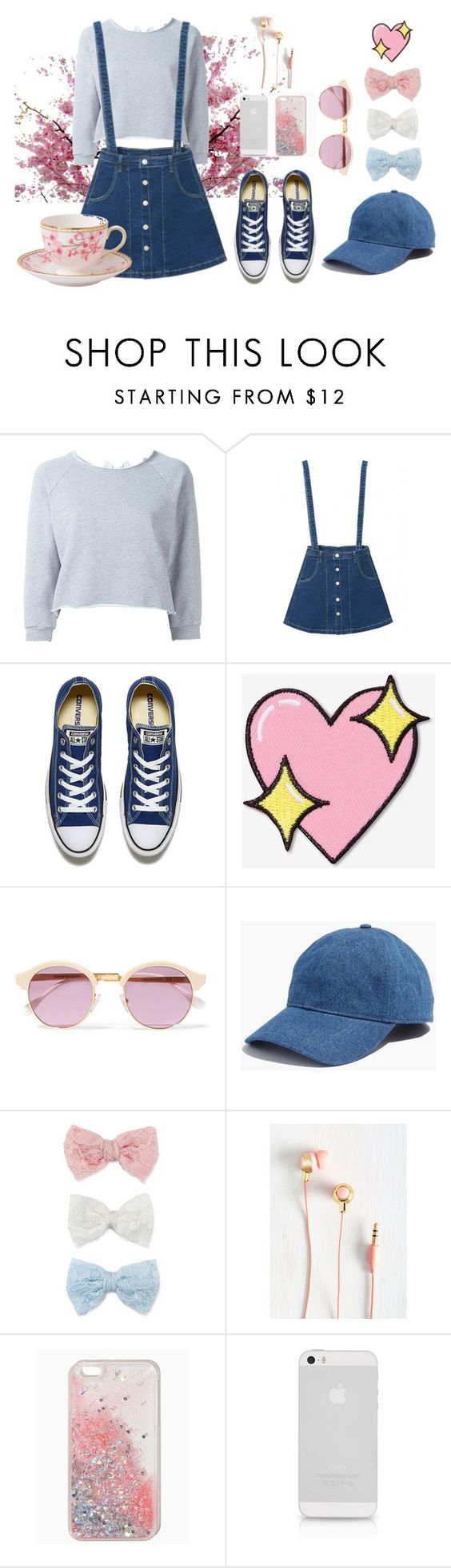 #3 by qa8700777 on Polyvore featuring мода, Gaëlle Bonheur, WithChic, Converse, Madewell, Decree, Sheriff&Cherry, Big Bud Press and Wedgwood