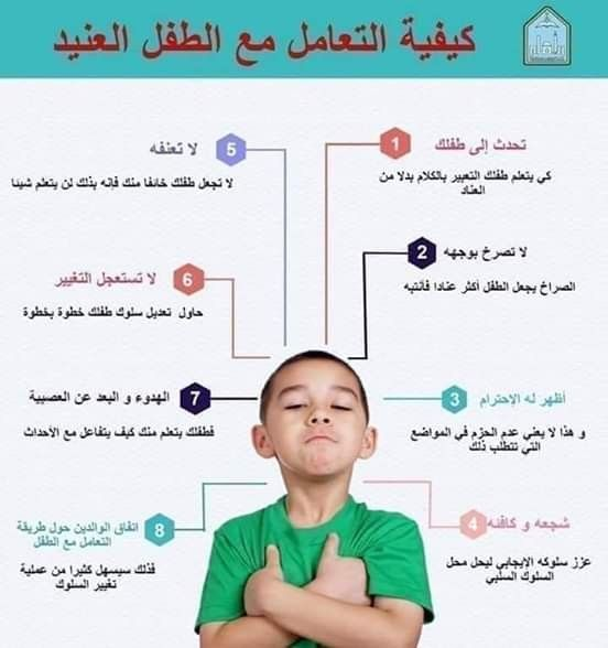 كيف اتعامل مع الطفل العنيد Baby Education Childrens Education Teaching Kids