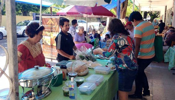 Weekly farmer's market in Mérida to promote Slow Food values by nurturing organic production and supporting regional culinary traditions.