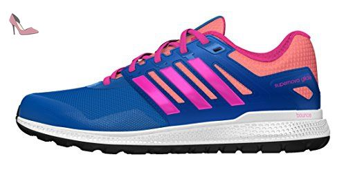 Energy Boost, Chaussures de Running Entrainement Homme, Bleu (Blue Night/Blue Night/Solar Yellow), 40 EUadidas
