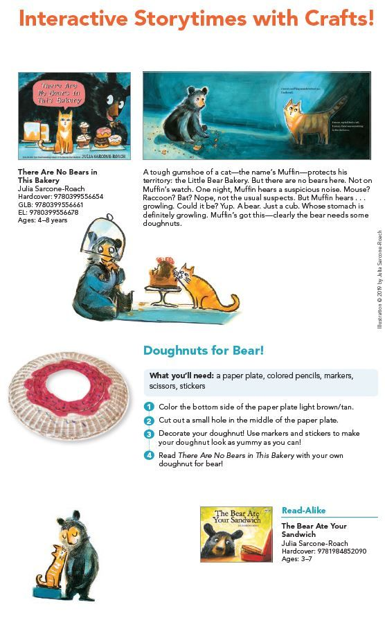 Interactive Storytime Activities To Accompany A Read Aloud Of There Are No Bears In This Bakery Reading Resources Read Aloud Interactive