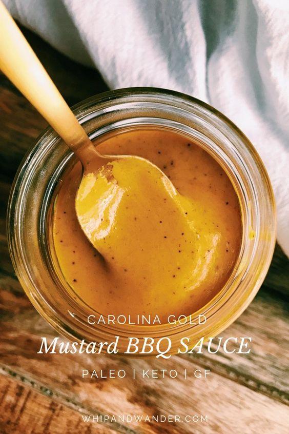 Carolina Gold Mustard BBQ Sauce