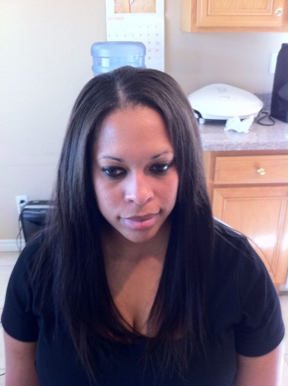 Basic, sew in leaving out the top, excuse the kitchen, ha!