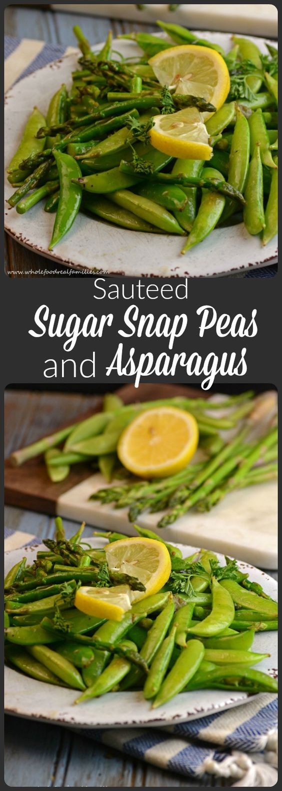 Sugar Snap Pea And Asparagus Saute Recipe — Dishmaps