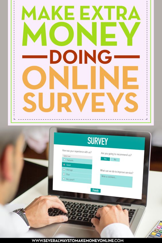 Make extra money and earn from home by taking online surveys. Join the millions of people who earn an average of $2 to $3 per online survey they complete.