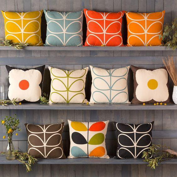 Orla Kiely pillows