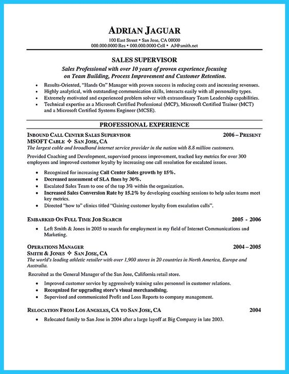 Call Center Representative Customer Service with Cross Trained Resume Free  Resume Sample