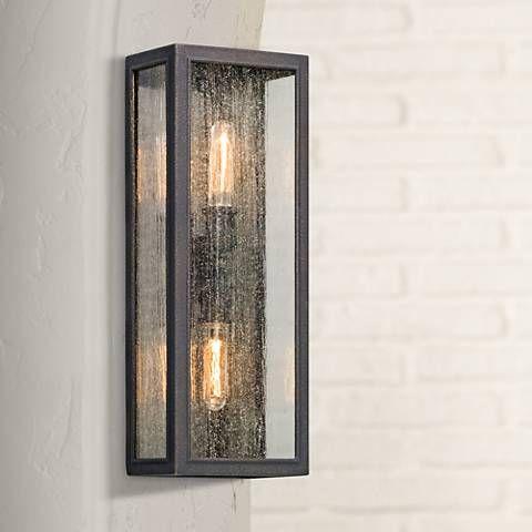 Dixon 22 High Vintage Bronze Outdoor Wall Light 1w035 Lamps Plus Wall Lights Outdoor Walls Outdoor Ceiling Lights
