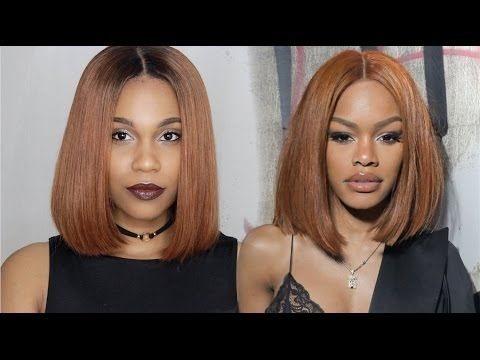 Teyana Taylor Inspired Copper Strawberry Blonde Bob Youtube