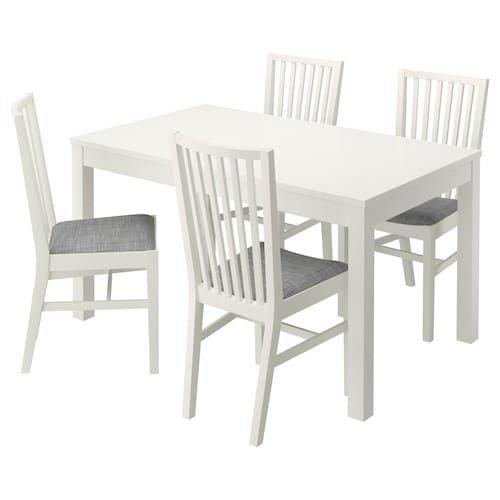 Ingatorp Ingolf Tavolo E 4 Sedie Bianco Ikea It Mobili Sedie Per Tavolo Da Pranzo Idee Ikea