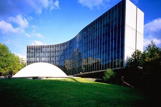 Sede del partido comunista París 1965