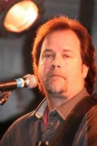 Larry Stewart of Restless Heart, Walnut-Creek Ampitheatre, Raleigh, NC,   Summer 1996