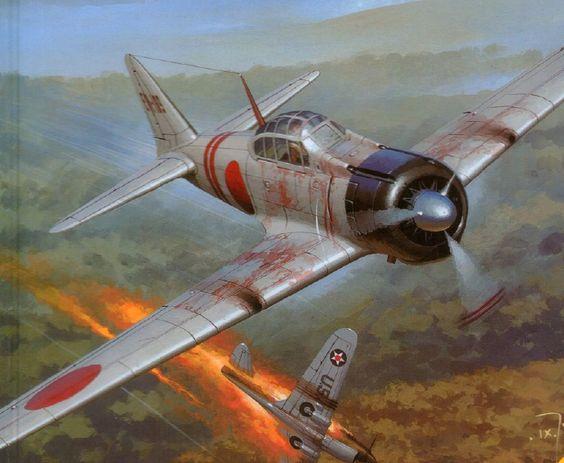 Zero vs P-40
