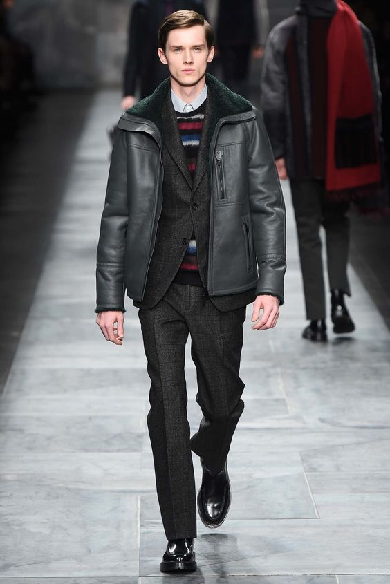 Fendi Fall 2015 Menswear Fashion Show