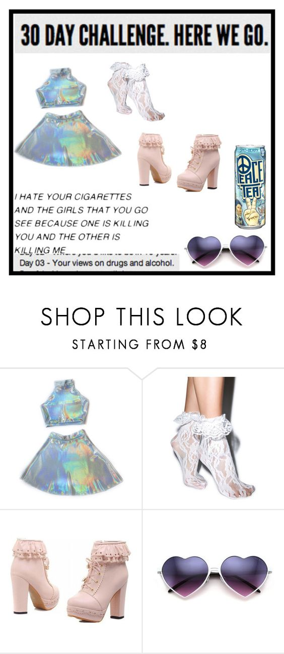 """""""{ 30 Day Challenge: Day 3 }"""" by that-weirdo987 ❤ liked on Polyvore featuring moda, Leg Avenue, women's clothing, women's fashion, women, female, woman, misses e juniors"""