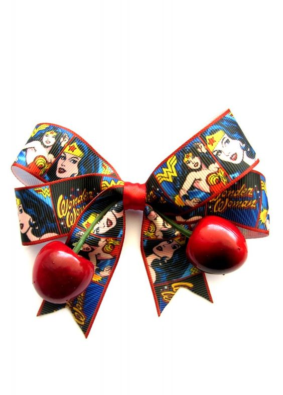 Dolly Cool Wonder Woman Cherry Bow
