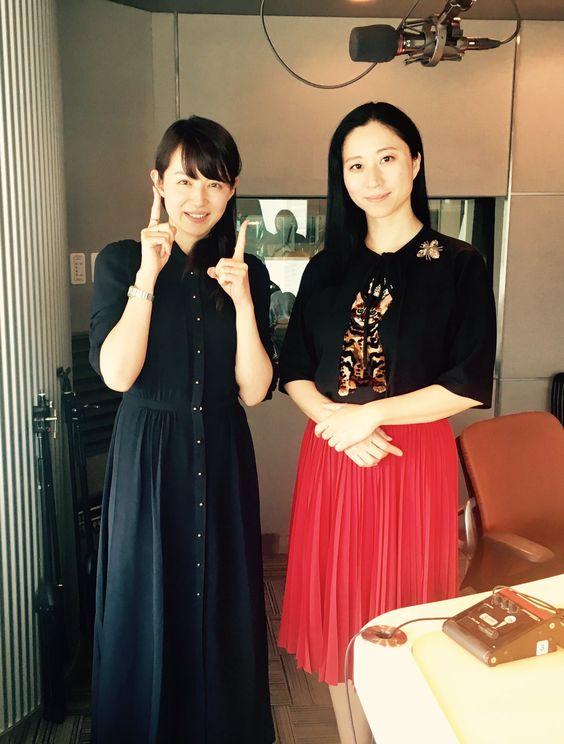 平井理央ラジオのゲストと2ショット
