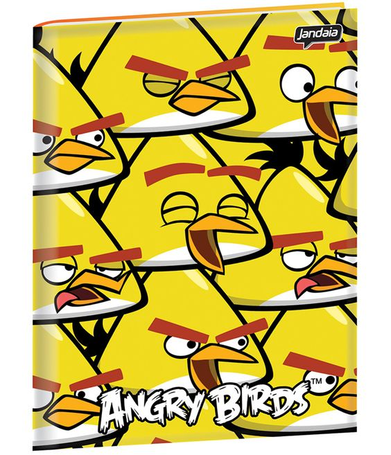 Caderno Brochura Angry Birds Jandaia 2013