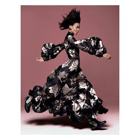 #AlexanderMcQueen. #GraceCoddington #VogueUS