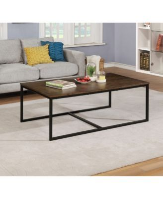 Alaterre Furniture Arcadia Acacia Wood 54 Coffee Table Coffee Table Rectangle Living Room Table Sets