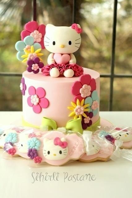 Hello Kitty Birthday Cake Fresh 25 Best Ideas About Hello Kitty Cake On Pinterest Ulang Tahun Kue Ulang Tahun Kue